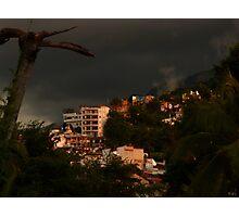 colors of the rainy season II - colores del tiempo de las lluvias Photographic Print
