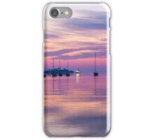 Sunrise in Mahone Bay, NS iPhone Case/Skin