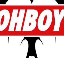Ohboy Sticker
