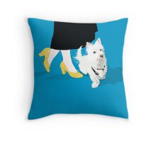 Taylor and Sonny Throw Pillow