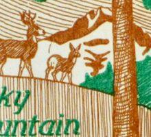 Estes Park Colorado Rocky Mountain National Park Sticker