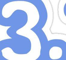 iRun 13.1 Blue Sticker Sticker