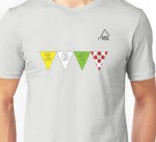 East Peak Apparel - 2015 Tour de France Peaks T-Shirt Unisex T-Shirt