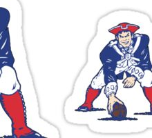 Pat the Patriot stickers Sticker