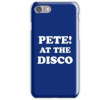 Panic At The Disco, Panic!, PATD iPhone Case/Skin