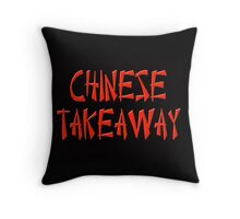 Chinese takeaway Throw Pillow