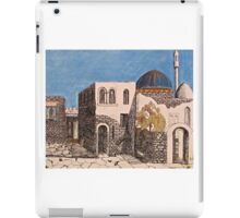 Back of the Neighborhood Fortifications iPad Case/Skin