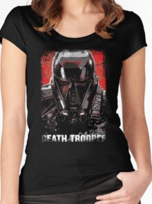 Death Troop Women's Fitted Scoop T-Shirt
