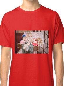 Retro rag dolls toys collection Classic T-Shirt