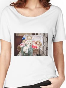 Retro rag dolls toys collection Women's Relaxed Fit T-Shirt