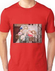 Retro rag dolls toys collection Unisex T-Shirt