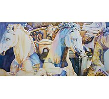 Neptune's Sea Horses, Florence Photographic Print