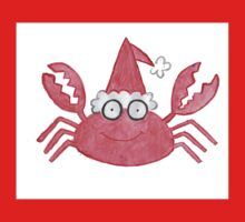 Crab Christmas/Greetings Card Kids Clothes