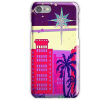 Stardust Christmas Skyline iPhone Case/Skin
