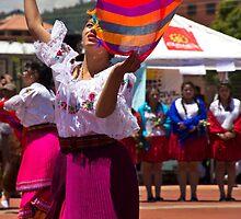 Ecuadorian Folk Dancer by Al Bourassa