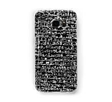 Ancient Egyptian Hieroglyphics Samsung Galaxy Case/Skin