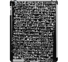 Ancient Egyptian Hieroglyphics iPad Case/Skin