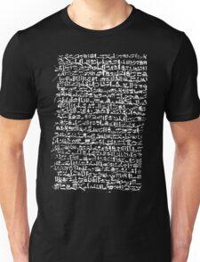 Ancient Egyptian Hieroglyphics Unisex T-Shirt
