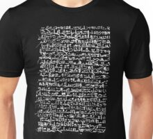 Ancient Egyptian Hieroglyphics Unisex T-Shirt