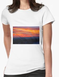 Gotta Miss Alberta Sunsets Womens Fitted T-Shirt