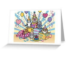 Party Cats Greeting Card