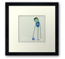 Kevin Durant the Warrior Framed Print