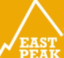 East Peak Apparel - Gold Square logo - Tshirt Sticker