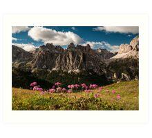 A Dolomites Classic Art Print