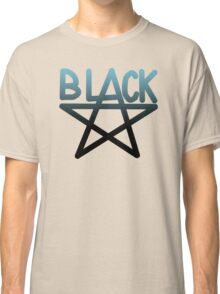 Black Star Anime Manga Shirt Classic T-Shirt