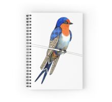 Welcome Swallow Spiral Notebook