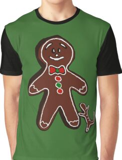 Gingerbread man Graphic T-Shirt
