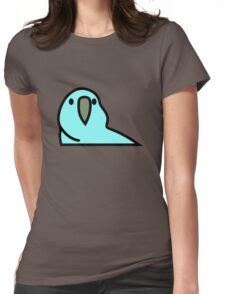 PartyParrot - Light Blue Womens Fitted T-Shirt
