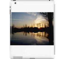 Lonely Tree During Sunrise - Nature Photography iPad Case/Skin