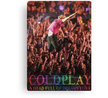 Coldplay Canvas Print