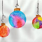 Merry Christmas Ornaments by Sunshinesmile83