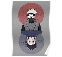 Kakashi & Obito Poster