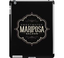 Mariposa Saloon Westworld iPad Case/Skin