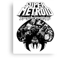 Super Metroid (Japanese Classic Edition) Canvas Print
