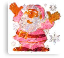 SANTA CLAUS MERRY CHRISTMAS Canvas Print