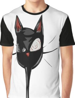 Psycho Cat! Graphic T-Shirt