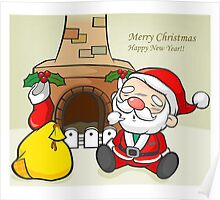 merry christmas - happy new years Poster