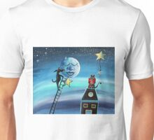 Star Light Star Bright - For Children Paintings by Valentina Miletic Unisex T-Shirt