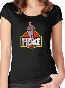 Fierce Dr. Sattler Women's Fitted Scoop T-Shirt
