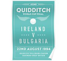 1994 Quidditch World Cup Final Poster