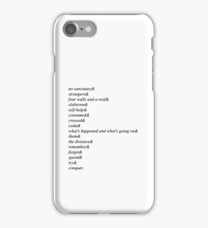 Walking Dead Season 5 iPhone Case/Skin