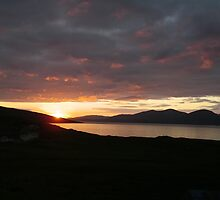 Sunset on Harris by Adamdabs