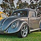 Volkswagen Beetle Oval in Gunmetal Grey  by Ferenghi