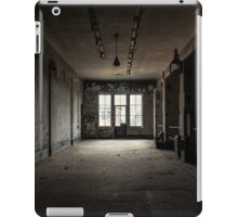 Dark and abandoned interior of a power plant iPad Case/Skin