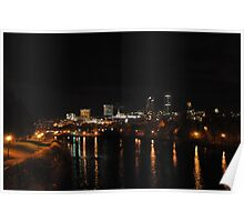 Québec City By Night Poster