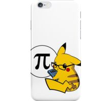 Pi-kachu v2.1(with shadows and glasses without lenses) iPhone Case/Skin